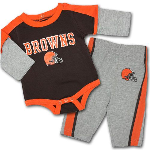 brand new 7fc50 8e9fb cleveland browns baby jersey