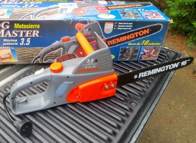 Electric Chainsaws are Considered Good Investments forTree Pruning: New unboxed electric chainsaw