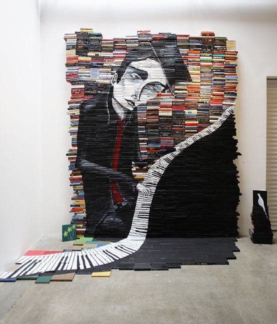 Five Beautiful Bookish Sculptures (Made with Real Books) | Quirk Books : Publishers & Seekers of All Things Awesome