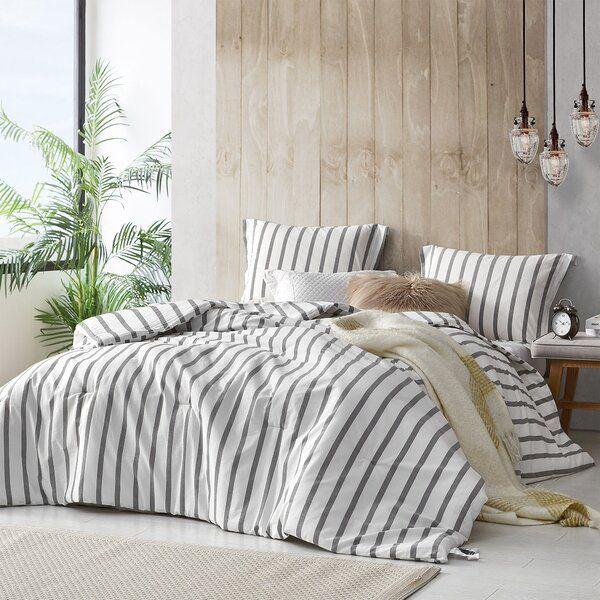 Arispe Reversible Comforter Set In 2020 Designer Dorm Bedding Grey And White Comforter Dorm Bedding Decor