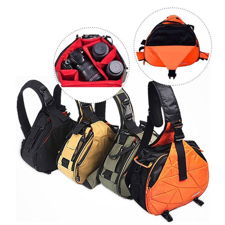 >> Click to Buy << Underwater DSLR Shoulder Camera Bag Rain Cover Triangle Sling Bag For Camera Profissional Canon Sony Nikon Digital Camera Bag #Affiliate