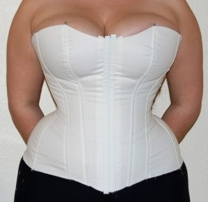 DIY corset for full figured women