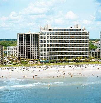Myrtle Beach, SC   We always stay at the Ocean Reef Hotel for a cheap oceanfront view!