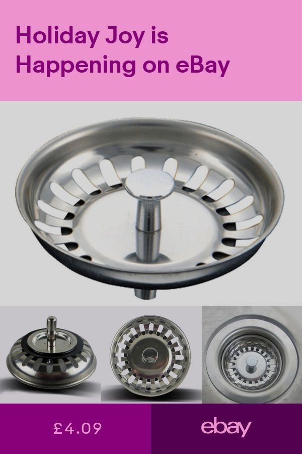 Other Kitchen Plumbing Home Furniture Diy Ebay Stainless Steel Kitchen Sink Sink Drain Stopper Kitchen Sink Strainer