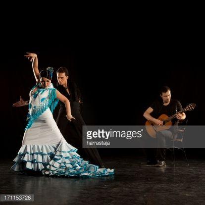 Foto stock : Ballerini di flamenco