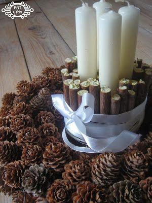 wieniec adwentowy- Advent wreath