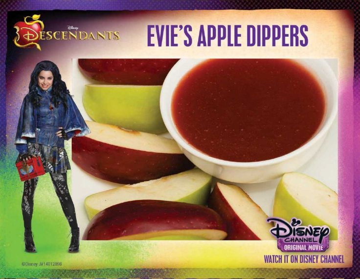 Evie's Apple Dippers Recipe from Descendants | SKGaleana