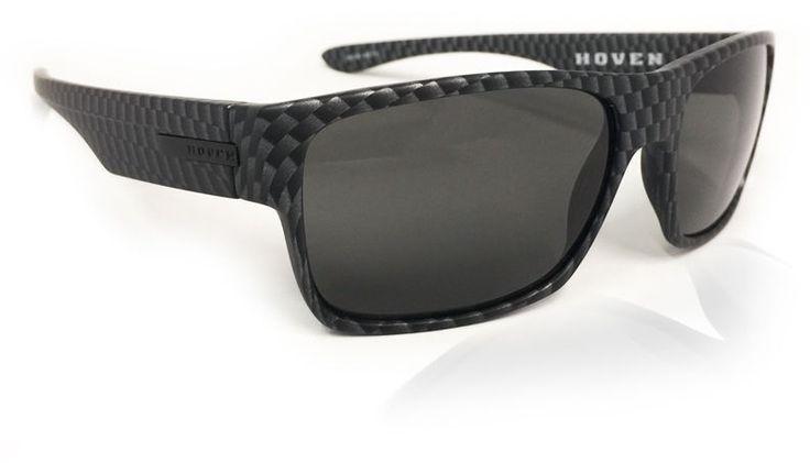 Hoven Future Carbon Fiber Sunglasses Frame 100% UV Polarized Optical Quality #Hoven #Rectangular