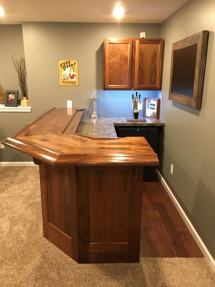 Building Corner Bar For Small Spaces Diy Home Bar Home Bar