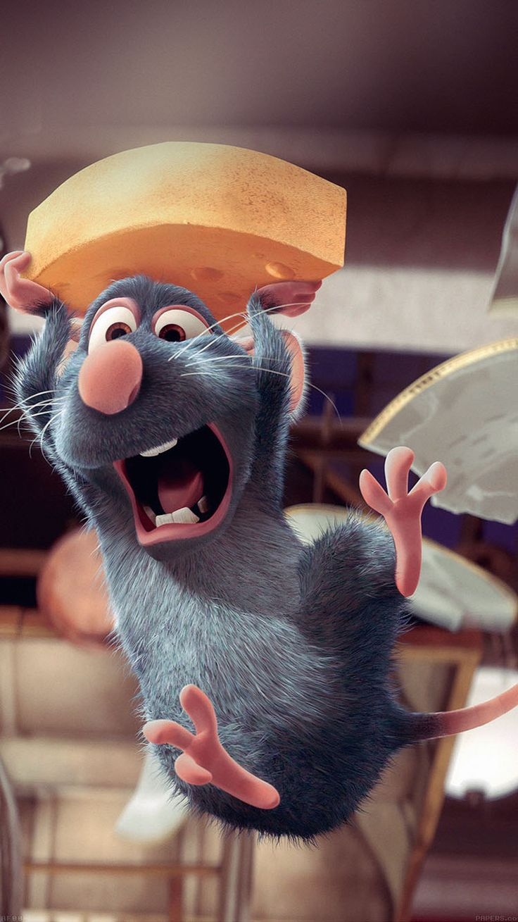 RATATOUILLE DISNEY PIXAR ILLUST ART WALLPAPER HD IPHONE