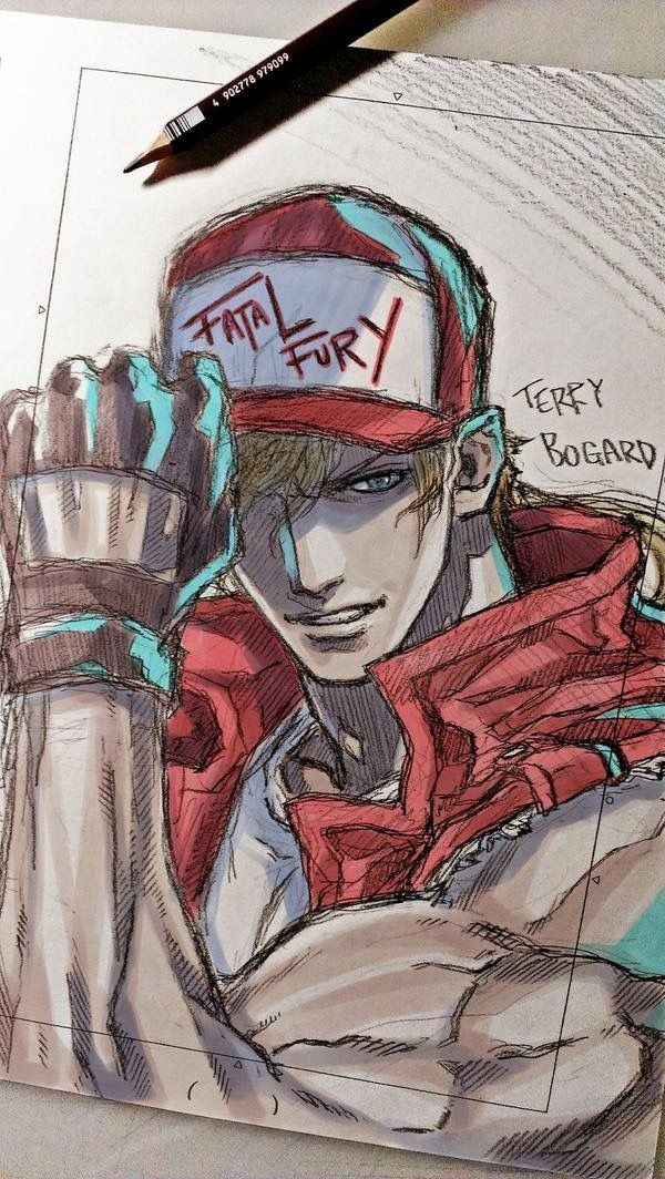 Terry bogard fatal fury king of fighters