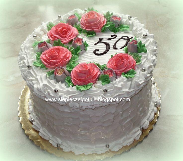 In my kitchen: Tort na urodziny