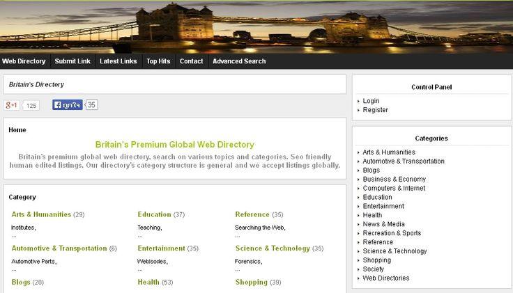 Britain's Premium Global Web Directory http://www.xbritain.com/