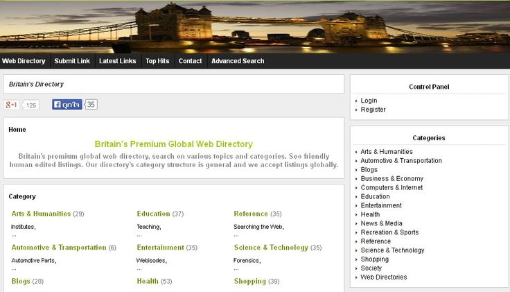 Britain's Premium Global Web Directory http://www.xbritain.com/