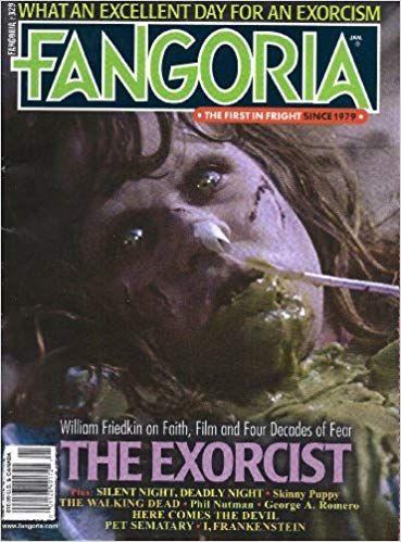 Fango 329 Skinny puppy, The exorcist, Pet sematary