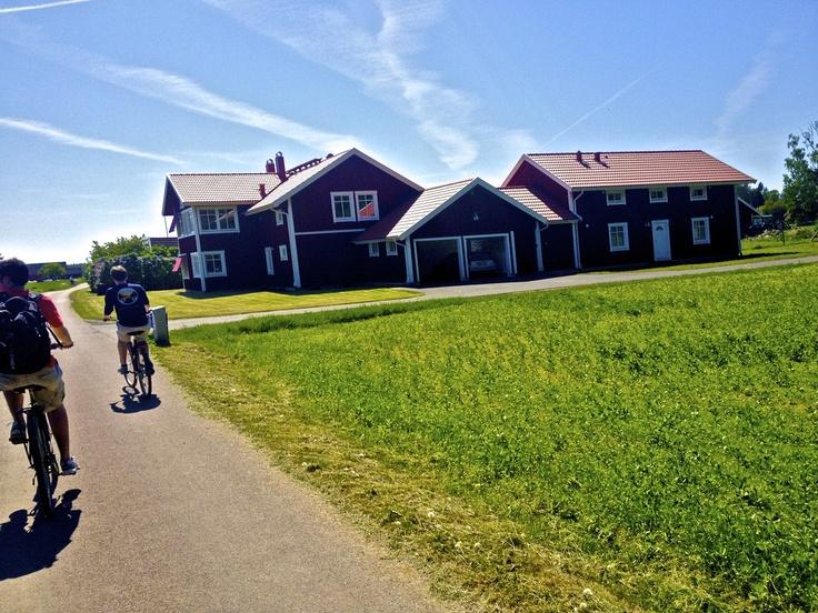 Houses on Visingo Island