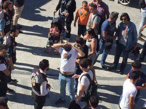 Uluslararası Onur Yürüyüşü'ne polis saldırısı: 10 gözaltı