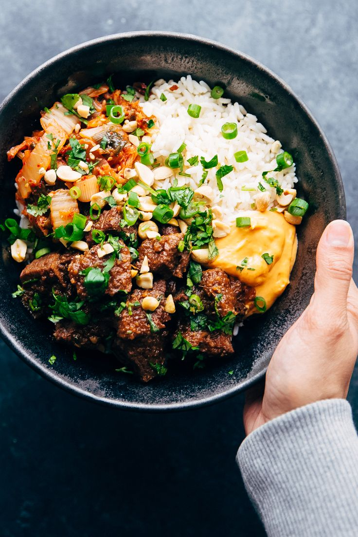 Learn how to make Instant Pot Korean Beef! You can make Korean beef bowls or wrap it up in a burrito. Instant Pot Korean Beef is perfect for busy nights!