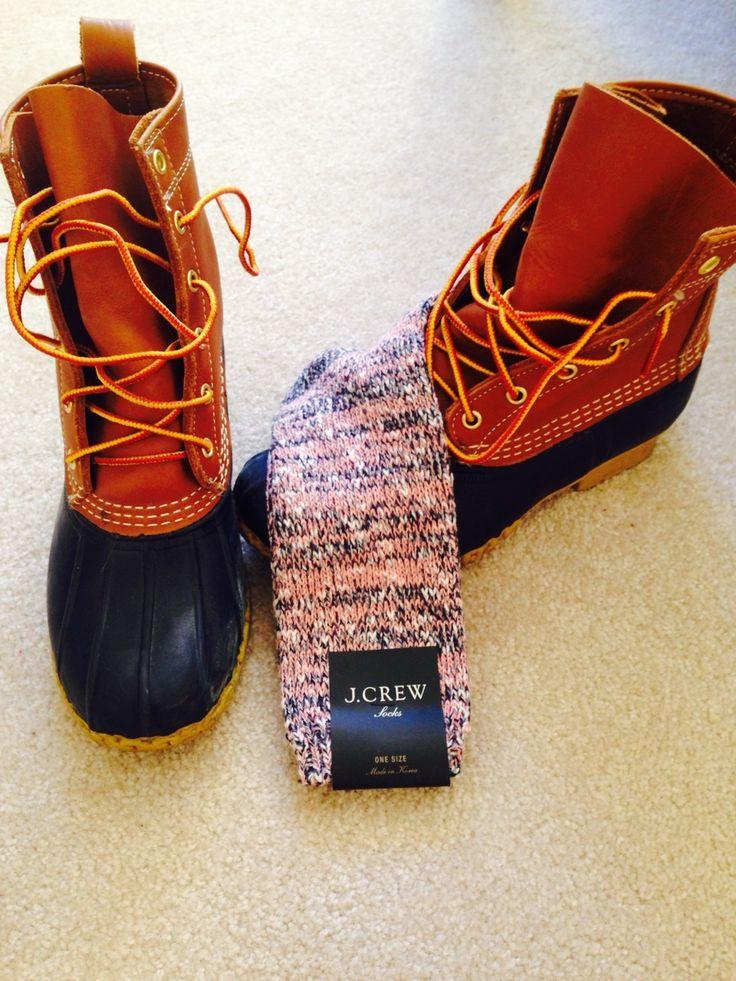 Ll bean duck boots preppy - photo#24