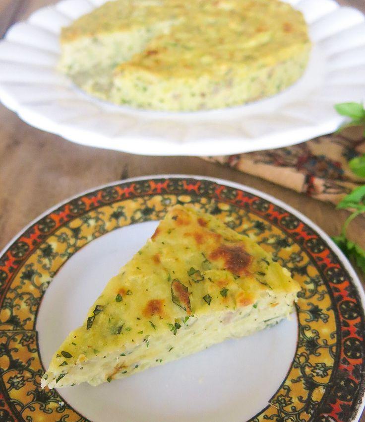 Especial de Natal – Torta de batata com ervas