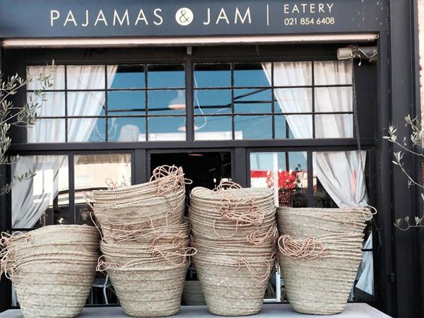 Pajamas & Jam Eatery, 32 Van Zyl Street, Strand, Cape Town - sounds a bit like Snooze in Denver!