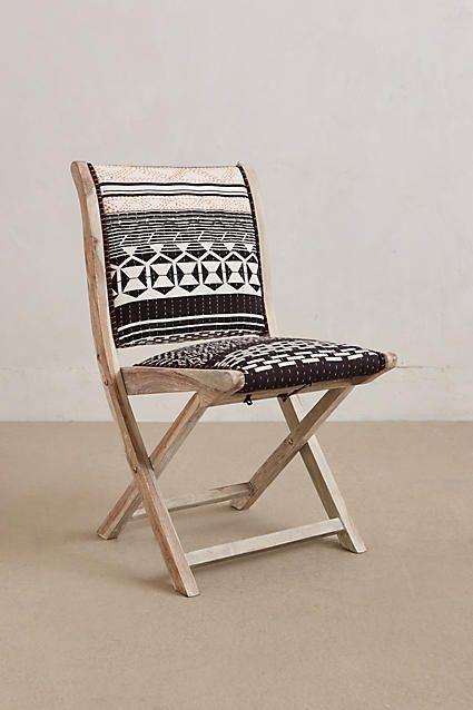 Terai Folding Chair - anthropologie.com