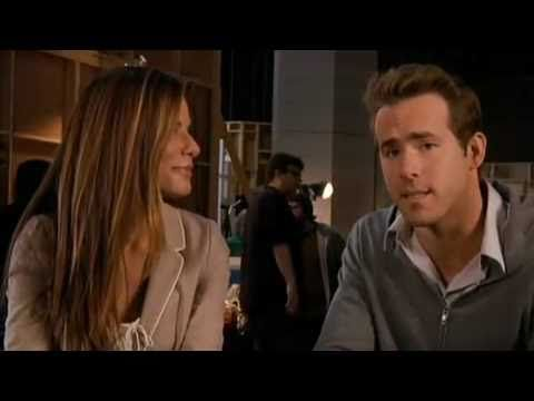 Ryan Reynolds and Sandra Bullock in a very funny interview - YouTube