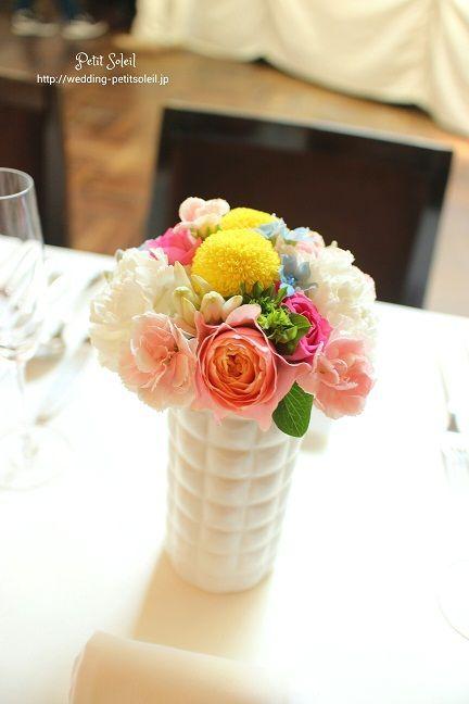 ゲストテーブル装花 神南軒
