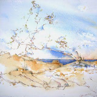 """Lake Michigan Shore 3"" by Katrina Jones"
