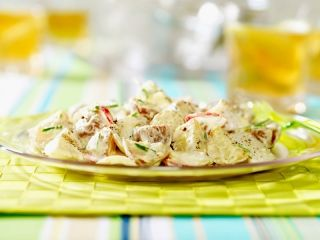 Salade de pommes de terre grelots | .recettes.qc.ca