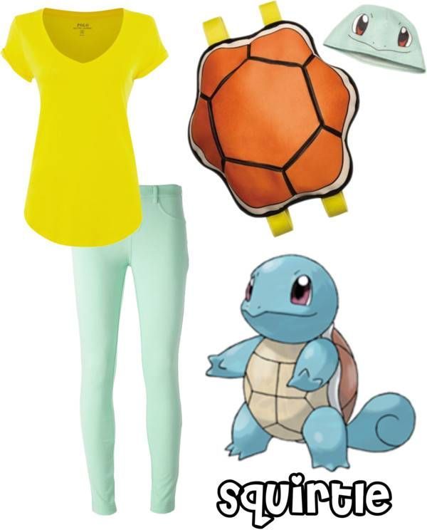 DIY Pokemon Costumes - Squirtle #Halloween #costumes #Pokemon