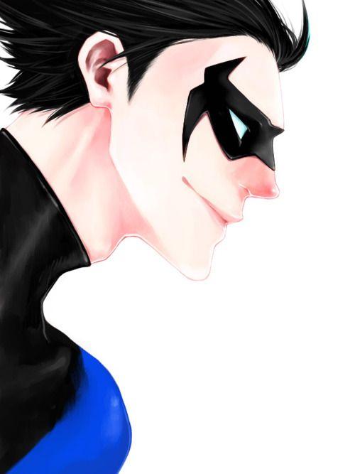Dick.: Nightwing Grayson, Comic Superhero, Comics Superheros, Dc Comics, Grayson Nightwing, Dick Grayson, Fans Art, Batman Robins Dc, Dc Art