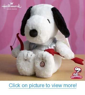 1LPR1613 Hallmark Cupid Snoopy Valentine's Day Plush Features Sound and Motion #1LPR1613 #Hallmark #Cupid #Snoopy #Valentines #Day #Plush #Features #Sound #Motion