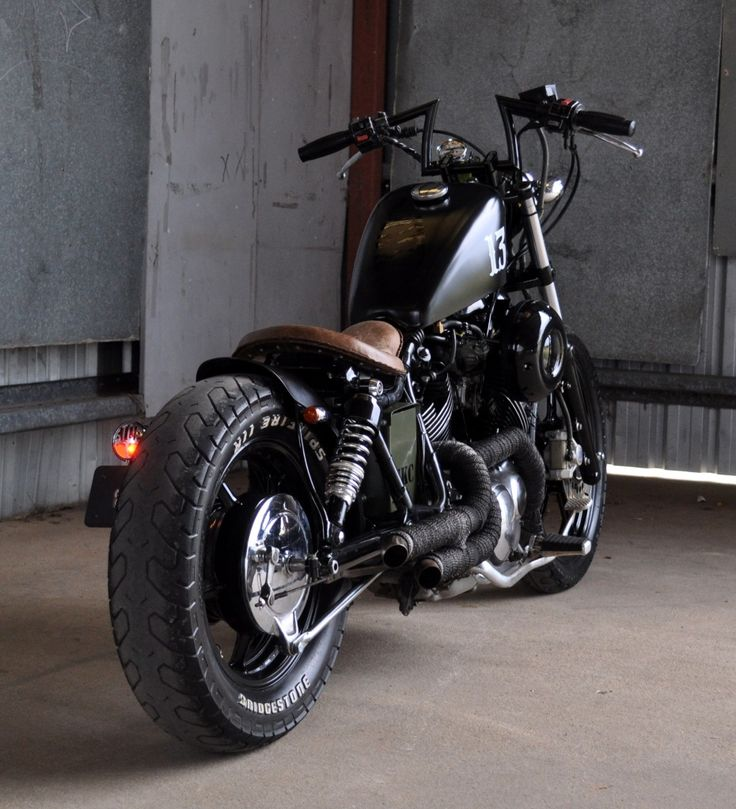 FmxAustralia.Com: For Sale: 91 Yamaha XV1100 Murdered Out Custom Bobber