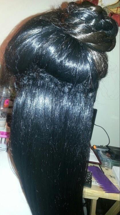 Pleasant Latch Hook W Senegalese Twist Pony Braids Twist Cornrows Hairstyle Inspiration Daily Dogsangcom