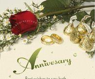 Anniversary & Happy Wedding