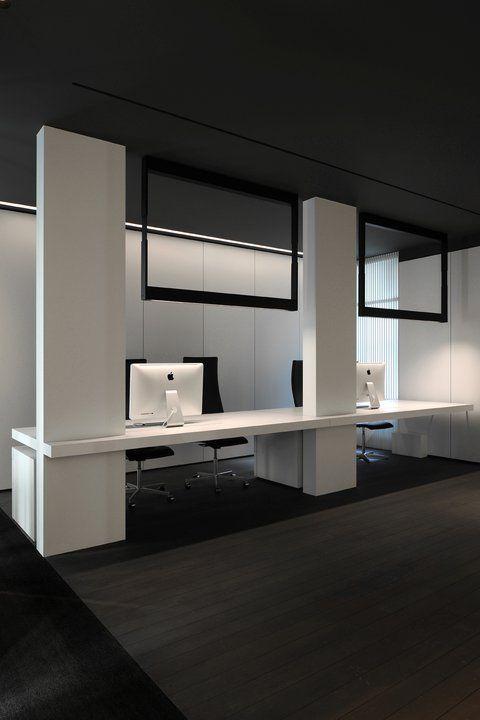 Kreon Creative Space showroom in Paris designed by the ID office Minus _