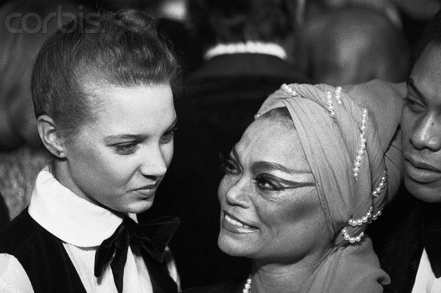 Eartha Kitt with Daughter Kitt McDonald