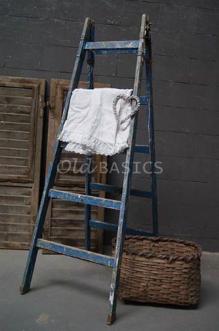17 beste idee n over houten ladder op pinterest tuin ladder deken ladder en houten ladder - Deco houten trap ...