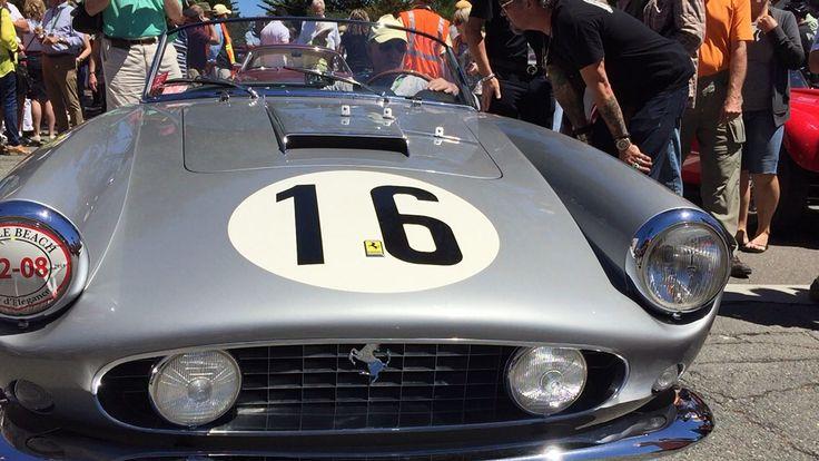 Beautiful Ferrari California spider long wheelbase 1961