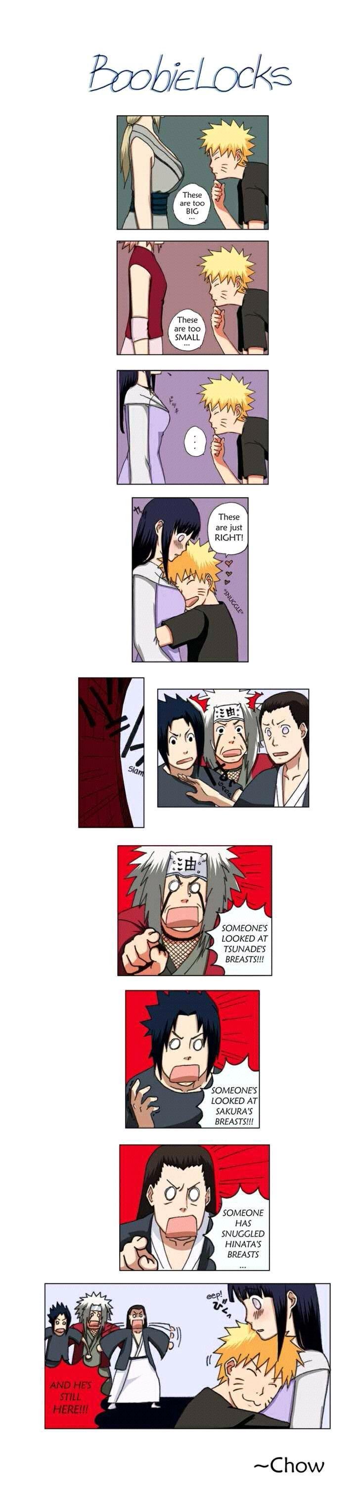 Haha Naruto's Boob Selection :)) XDDDD