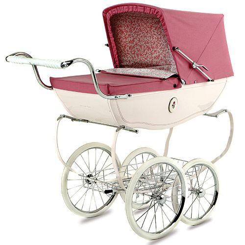 cutest little girl doll pram by silver cross - I used to LOVE mine!! (mine was navy blue)