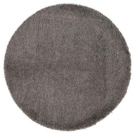 sobre et facile placer le tapis contemporain et design mike rond petit modle - Tapis Rond Color