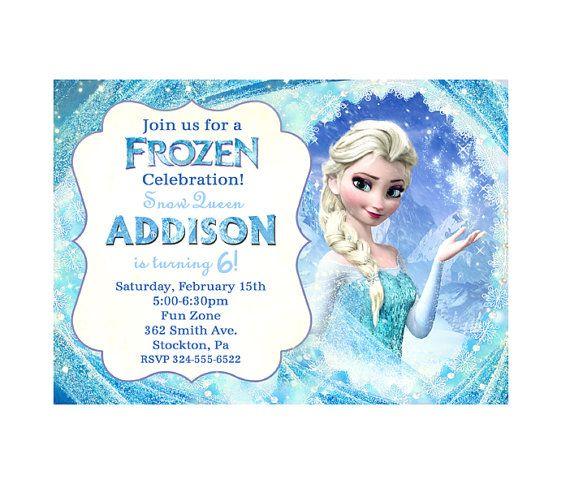 1000+ images about Frozen party on Pinterest Frozen birthday cake - invitation birthday frozen
