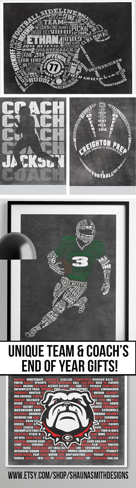 GREAT ETSY Shop with tons of Football, Lacrosse and other sport end of year gifts!