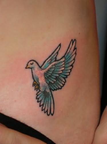 Bird tattoo - pretty wings