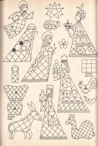 Taken from McCall's Christmas Make-It Ideas magazine,vol. VI, 1963]  pf2