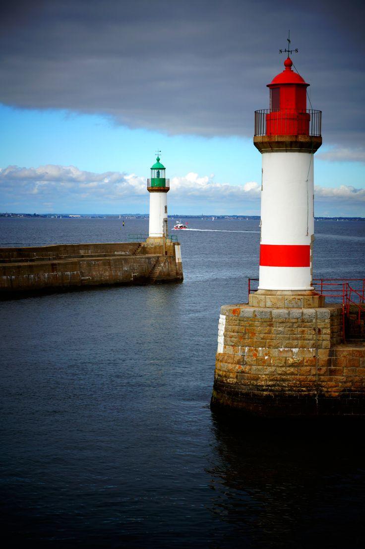 L'entrée du Port-Tudy... #Ile de #Groix #Bretagne
