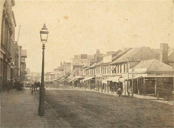 George Street, 1858-60