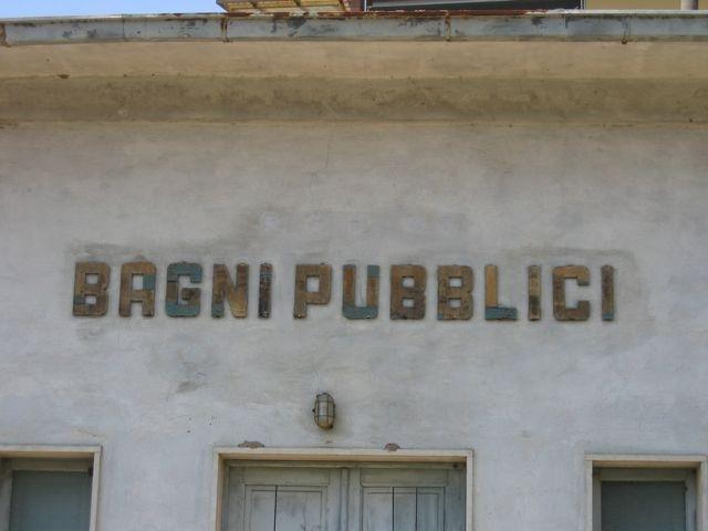 bagni pubblici Gaiole in Chianti